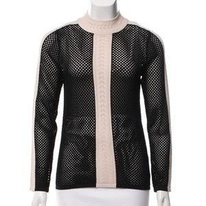 Sandro Knit mock Sweater